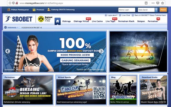 moneyyellow.com link alternatif Sbobet