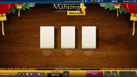 Mahjong Mazzetti 3 Tiles
