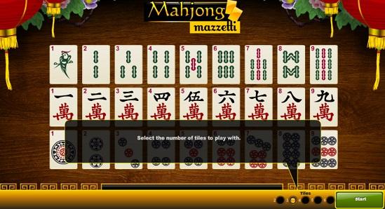 Mahjong Mazzetti Sbobet