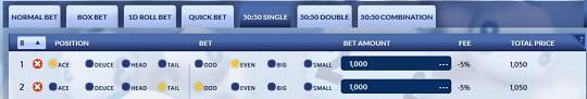 Indo Fee SBO DRAW Togel 50-50