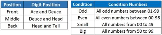 Pilihan Jenis Taruhan SBO DRAW Togel 50-50 Double