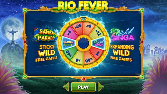 Rio Fever Slot Sbobet