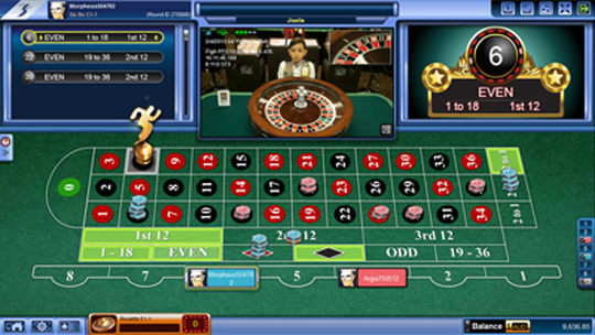Roulette online Sbobet